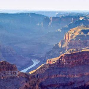 Flying over the Grand Canyon on the West Rim Air Only Tour