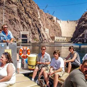 Rafting in Black Canyon on the Colorado River on the Hoover Dam Float Adventure Tour